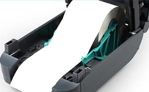 斑马Zebra GT820 一维/二维条码热敏/热转印桌面打印机GT820
