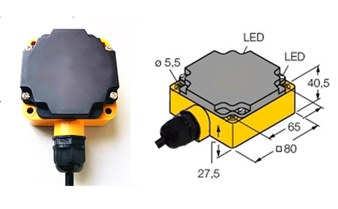RFID超高频工业级一体式读写器