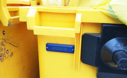 RFID远距离读卡器垃圾清运车管理