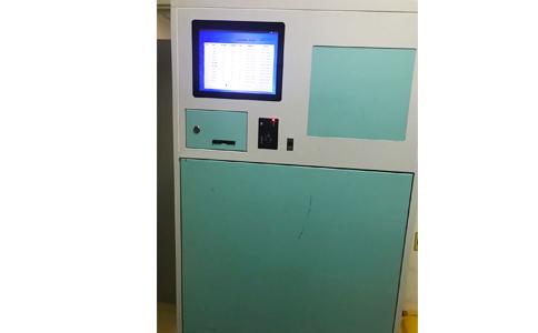 RFID应用于医院被服管理收衣柜