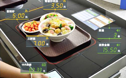 RFID智能餐饮自助结算(智盘)
