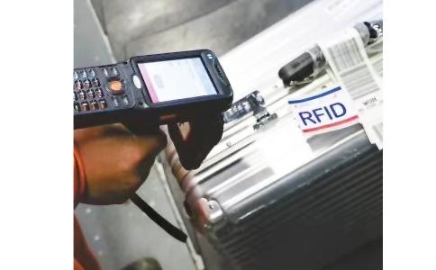 RFID手持机用于机场行李管理